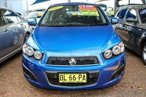 2011 Holden Barina TM Blue 5 Speed Manual Hatchback Colyton Penrith Area Preview
