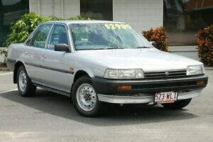 1992 Toyota Camry SV21 SE Silver 5 Speed Manual Sedan Bungalow Cairns City Preview