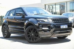 2012 Land Rover Range Rover Evoque L538 MY12 Si4 CommandShift Dynamic Black 6 Speed Sports Automatic
