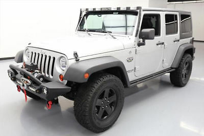 2012 Jeep Wrangler Unlimited Rubicon Sport Utility 4 Door 2012 Jeep Wrangler Unltd Call Of Duty Mw3 4X4 6 Spd Nav  241295 Texas Direct