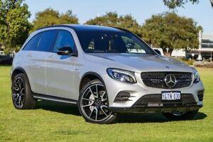 2016 Mercedes-Benz GLC43 X253 AMG 9G-Tronic 4MATIC Silver 9 Speed Sports Automatic Wagon