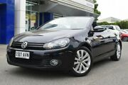 2011 Volkswagen Golf VI MY12 118TSI DSG Black 7 Speed Sports Automatic Dual Clutch Cabriolet St Marys Mitcham Area Preview