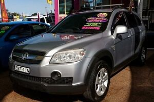 2007 Holden Captiva CG MY08 CX AWD Silver 5 Speed Sports Automatic Wagon Minchinbury Blacktown Area Preview
