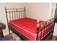 "Victoria Antique Bedstead and Mattress - 4"" x 6"""