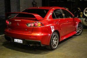 2011 Mitsubishi Lancer CJ MY12 Evolution TC-SST MR Red 6 Speed Sports Automatic Dual Clutch Sedan