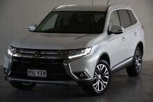 2015 Mitsubishi Outlander ZK MY16 LS 4WD White 6 Speed Constant Variable Wagon Robina Gold Coast South Preview