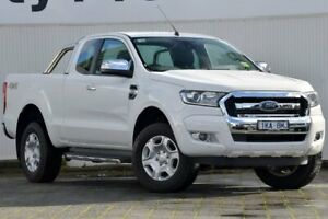 2018 Ford Ranger PX MkII 2018.00MY XLT Super Cab White 6 Speed Sports Automatic Utility Dandenong Greater Dandenong Preview