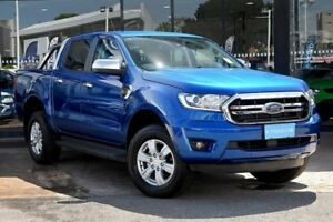 2018 Ford Ranger PX MkIII 2019.00MY XLT Pick-up Super Cab Blue 10 Speed Sports Automatic Utility Parramatta Parramatta Area Preview