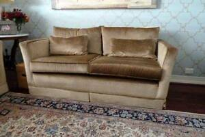 2 Velvet Covered Sofas $500 each South Perth South Perth Area Preview