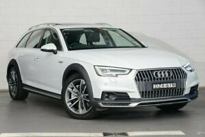 2018 Audi A4 B9 8W MY18 Allroad S Tronic Quattro Ultra White 7 Speed Sports Automatic Dual Clutch Zetland Inner Sydney Preview