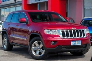 2012 Jeep Grand Cherokee WK MY2012 Laredo Red 5 Speed Sports Automatic Wagon Osborne Park Stirling Area Preview