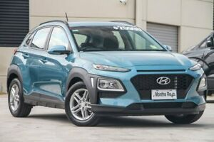2018 Hyundai Kona OS MY18 Active D-CT AWD Blue 7 Speed Sports Automatic Dual Clutch Wagon