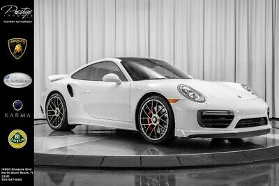 2017 Porsche 911 Turbo 2017 Porsche 911 Turbo Coupe 3.8L Twin-Turbo 6-Cyl Engine Automatic White