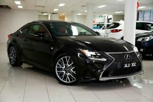 2016 Lexus RC GSC10R RC350 F Sport Starlight Black 8 Speed Sports Automatic Coupe South Melbourne Port Phillip Preview