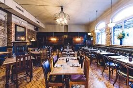 KP required for Kentish Town gastro pub £7.20 plus service - immediate start