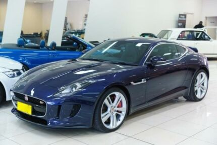 2016 Jaguar F-TYPE MY16 V6 S Blue 6 Speed Manual Coupe Carss Park Kogarah Area Preview