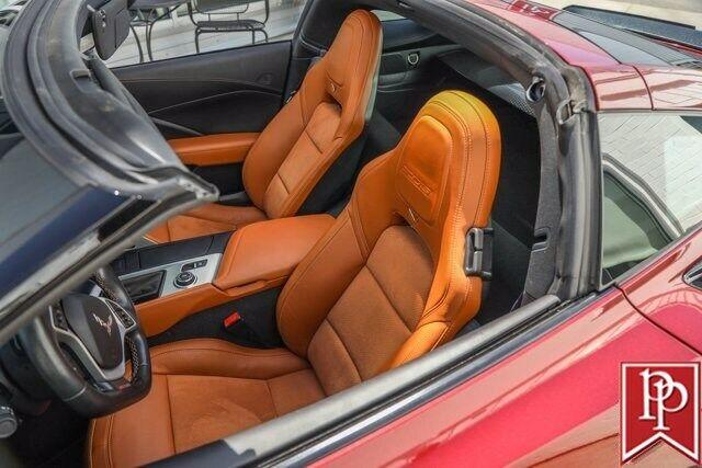 2016 Red Chevrolet Corvette Z06 2LZ | C7 Corvette Photo 3
