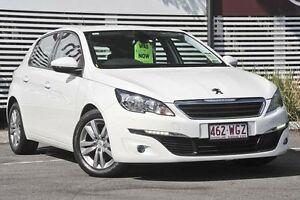 2014 Peugeot 308 T9 Active White 6 Speed Sports Automatic Hatchback Mount Gravatt Brisbane South East Preview