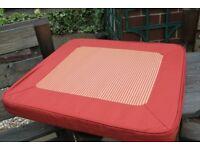 Pair Terracotta Garden Cushions