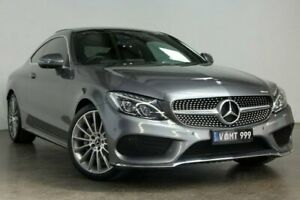 2017 Mercedes-Benz C-Class C205 807 057MY C200 9G-Tronic Grey 9 Speed Sports Automatic Coupe South Melbourne Port Phillip Preview