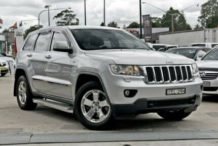 2011 Jeep Grand Cherokee WK MY2012 Laredo Silver 5 Speed Sports Automatic Wagon