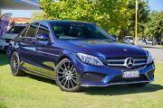 2016 Mercedes-Benz C200 W205 807MY 7G-Tronic + Blue 7 Speed Sports Automatic Sedan Victoria Park Victoria Park Area Preview