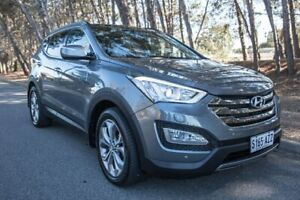 2013 Hyundai Santa Fe DM MY14 Highlander Grey 6 Speed Sports Automatic Wagon