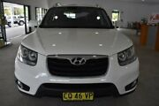 2010 Hyundai Santa Fe CM MY10 Highlander White 6 Speed Sports Automatic Wagon Port Macquarie Port Macquarie City Preview