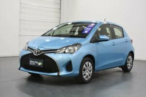 2016 Toyota Yaris NCP130R MY15 Ascent Blue 4 Speed Automatic Hatchback Oakleigh Monash Area Preview