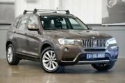 2011 BMW X3 F25 xDrive30d Steptronic Bronze 8 Speed Automatic Wagon Albion Brisbane North East Preview