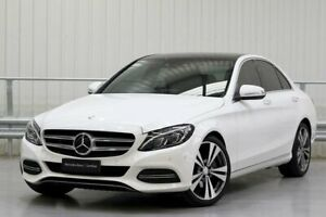 2015 Mercedes-Benz C-Class W205 C250 White Sports Automatic Parramatta Parramatta Area Preview