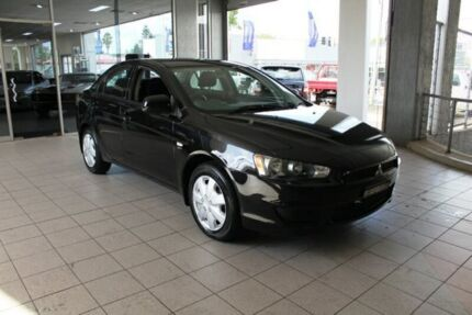 2008 Mitsubishi Lancer CJ ES Black 5 Speed Manual Sedan Thornleigh Hornsby Area Preview