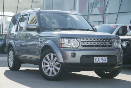 2012 Land Rover Discovery 4 Series 4 L319 MY13 SDV6 HSE Grey 8 Speed Sports Automatic Wagon Pearce Woden Valley Preview