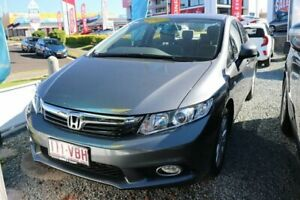 2012 Honda Civic 9th Gen Ser II VTi-LN Polished Metal 5 Speed Sports Automatic Sedan Ormiston Redland Area Preview