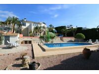 5 Bed Villa to rent - Moraira Spain