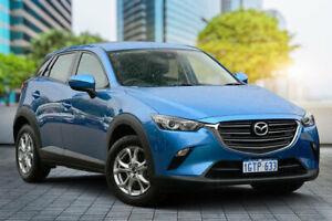 2018 Mazda CX-3 DK4W7A Maxx SKYACTIV-Drive i-ACTIV AWD Sport Dynamic Blue 44j 6 Speed Bayswater Bayswater Area Preview