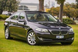 2010 BMW 5 Series F10 535i Steptronic Grey 8 Speed Sports Automatic Sedan Burswood Victoria Park Area Preview