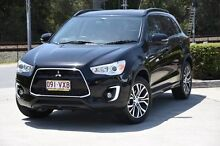 2015 Mitsubishi ASX XB MY15.5 LS 2WD Black 6 Speed Constant Variable Wagon Helensvale Gold Coast North Preview
