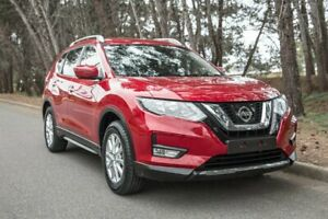 2017 Nissan X-Trail T32 Series II ST-L X-tronic 2WD Red 7 Speed Constant Variable Wagon Morphett Vale Morphett Vale Area Preview