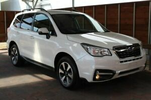 2018 Subaru Forester S4 2.5I-L White Constant Variable Glebe Hobart City Preview