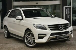 2015 Mercedes-Benz M-Class W166 MY805 ML250 BlueTEC 7G-Tronic + White 7 Speed Sports Automatic Wagon South Melbourne Port Phillip Preview