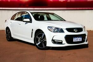 2017 Holden Commodore VF II MY17 SV6 White 6 Speed Sports Automatic Sedan Fremantle Fremantle Area Preview