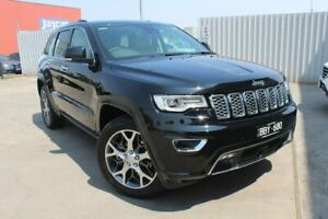 2019 Jeep Grand Cherokee WK MY19 Overland Black 8 Speed Sports Automatic Wagon Hallam Casey Area Preview