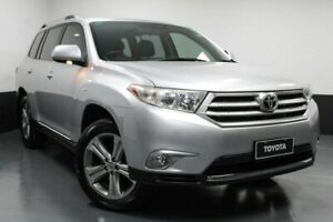 2011 Toyota Kluger GSU45R MY11 KX-S AWD Silver 5 Speed Sports Automatic Wagon Glendale Lake Macquarie Area Preview