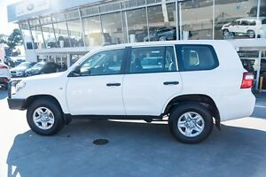 2013 Toyota Landcruiser VDJ200R MY13 GX White 6 Speed Sports Automatic Wagon Brookvale Manly Area Preview