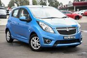 2013 Holden Barina Spark MJ MY13 CD Blue 5 Speed Manual Hatchback Penrith Penrith Area Preview