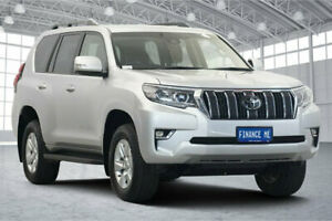 2019 Toyota Landcruiser Prado GDJ150R GXL Silver 6 Speed Sports Automatic Wagon Victoria Park Victoria Park Area Preview
