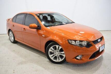 2011 Ford Falcon FG XR6 Orange 6 Speed Sports Automatic Sedan Launceston Launceston Area Preview