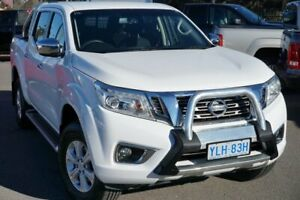 2015 Nissan Navara D23 ST White 7 Speed Sports Automatic Utility Phillip Woden Valley Preview