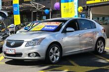 2013 Holden Cruze JH Series II MY13 Equipe Silver 6 Speed Sports Automatic Hatchback Ringwood East Maroondah Area Preview